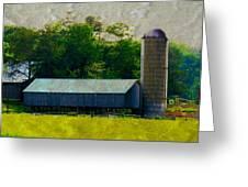 Mechanisville Md Farm Greeting Card