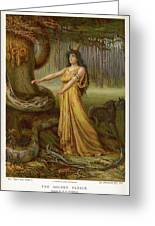Medea, Daughter Of Aeetes King Greeting Card