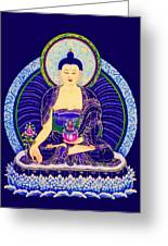 Medicine Buddha 6 Greeting Card