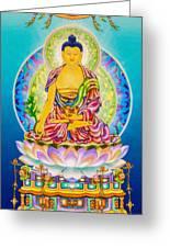 Medicine Buddha 7 Greeting Card