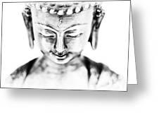 Medicine Buddha Monochrome Greeting Card