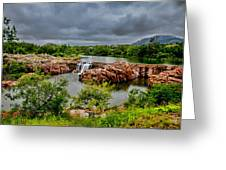 Medicine Park II Greeting Card by Toni Hopper