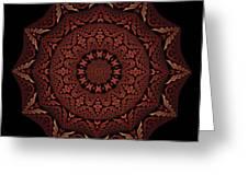 Medicine Wheel Dragonspur Fractal K12-4 Greeting Card