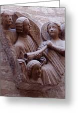 Medieval Angels Greeting Card