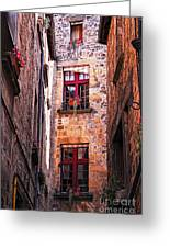 Medieval Architecture Greeting Card