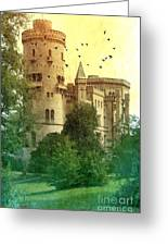 Medieval Castle - Old World  Greeting Card