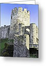 Medieval Conwy Greeting Card