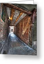 Medieval Doorway Greeting Card
