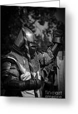 Medieval Faire Knight's Victory 1 Greeting Card