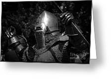 Medieval Faire Knight's Victory 2 Greeting Card