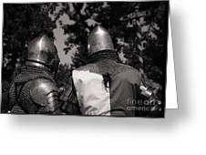 Medieval Faire Planning Strategies Greeting Card