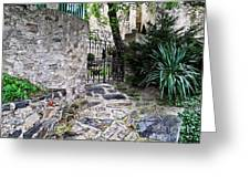 Medieval Garden Greeting Card