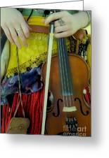 Medieval Gypsy Greeting Card