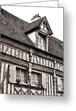 Medieval House Greeting Card