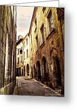 Medieval Street In Perigueux Greeting Card by Elena Elisseeva