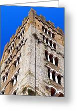 Medieval Tower Greeting Card