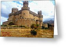 Medievel Castle Greeting Card