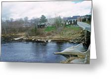 Medomak River, Waldoboro,maine Greeting Card