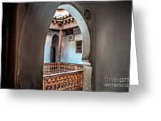 Medrassa In Marrakech Greeting Card
