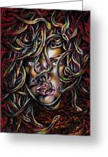 Medusa No. Three Greeting Card