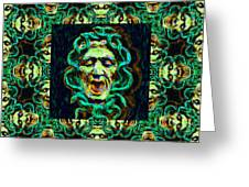 Medusa's Window 20130131p38 Greeting Card by Wingsdomain Art and Photography