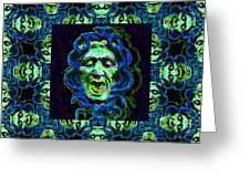 Medusa's Window 20130131p90 Greeting Card by Wingsdomain Art and Photography