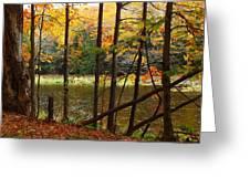 Meduxnekeag River 4 Greeting Card
