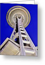 Meet Me At The Needle Greeting Card