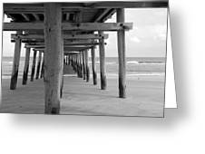 Meet Me Under The Pier. Greeting Card
