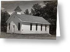 Meeting House Greeting Card
