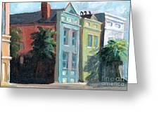 Meeting Street Charleston South Carolina Greeting Card