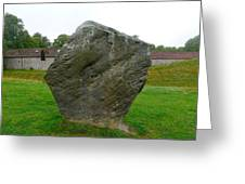 Megalith At Avebury Greeting Card