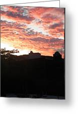 Melaque Sunset Greeting Card