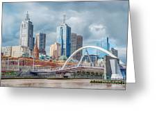 Melbourne Australia Greeting Card