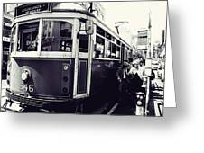 Old Tram In Melbourne Greeting Card