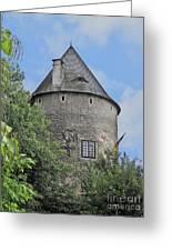 Melk Medieval Tower Greeting Card