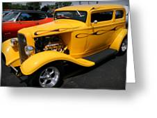 Mello Yellow Rod Greeting Card