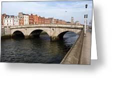 Mellows Bridge In Dublin Greeting Card