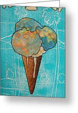 Melt With You Greeting Card by Philip Haxby Thompson