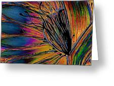 Melted Crayons Greeting Card
