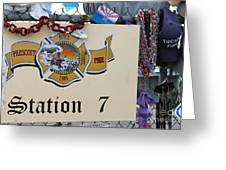 Memorial 4 Greeting Card