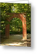 Memorial Arch Greeting Card