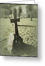 Memorial Cross Greeting Card