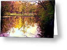 Memorial Park - Henry County Greeting Card
