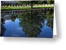 Memorial Reflecting Pool Greeting Card