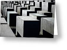 Memorial To The Murdered Jews Of Europe Greeting Card