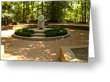 Memorial To The Slaves Greeting Card
