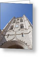 Memorial Union Clock Tower Greeting Card by Kay Pickens