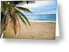 Memories Of A Gentle Wave Greeting Card