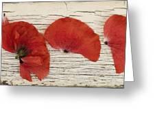 Memories Of A Summer Horizontal Greeting Card
